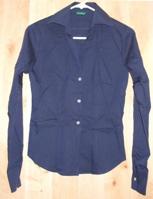 Made in Italy of Benneton shirt sz Small womens button   001272