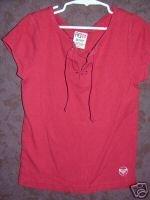 Roxy shirt sz Small juniors    001293