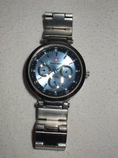 SWISS NAVY watch nice condition quartz