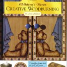 Creative Woodburning Childrens Decor Walnut PATTERNS