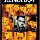 Alpha Dog DVD Ben Foster Shawn Hatosy Emile Hirsch Justin Timberlake Anton Yelchin Bruce Willis