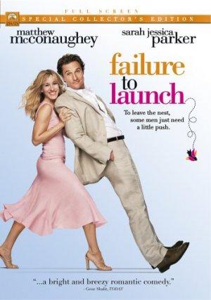 Failure to Launch DVD Matthew McConaughey Sarah Jessica Parker