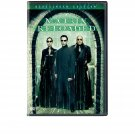 Matrix Reloaded DVD Keanu Reeves Laurence Fishburne 2-disc