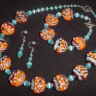 Summer Fiesta Lampwork Ensemble - Free Shipping