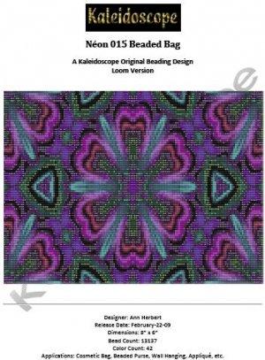 Néon 015 Beaded Bag � A Kaleidoscope Original Beading Design Loom Version
