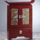 Wood Dragon-Door Cabinet