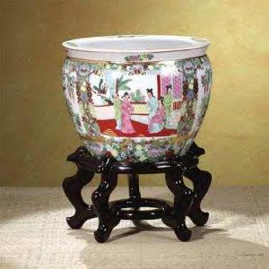 "Footed Porceling ""Fish Bowl"""