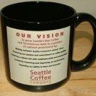 Seattle Coffee Company Jumbo Coffee Mug HTF B4 Starbuck