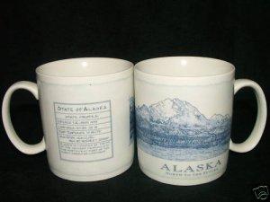 Starbucks ALASKA  Architectural MUg,Typo Error RARE NWT