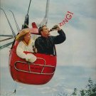 Vintage 1962 Ski Lift Coca Cola Coke Soda AD