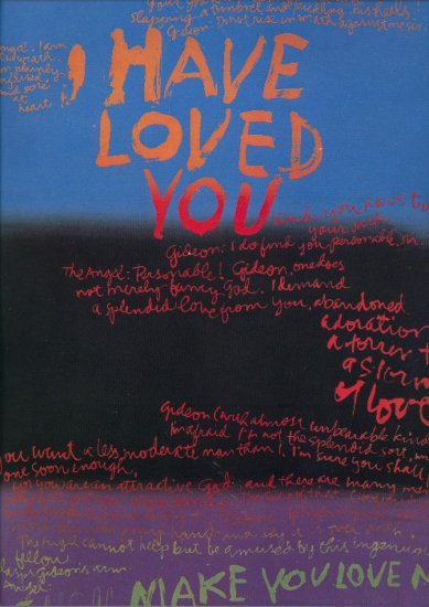 SOLD 1968 Sister Mary Corita Kent I Have Loved You ART PRINT