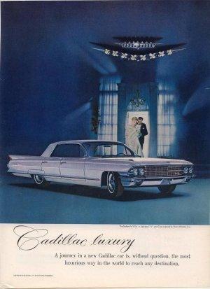 Vintage 1962 Jewels by Harry Winston Cadillac de Ville Car AD