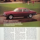 1985 Red or Maroon Jaguar XJ6 Motorcar Car AD