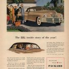 Vintage 1948 Packard Car Art Print AD