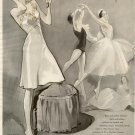 Vintage 1944 Rhythm In Lingerie Ballerina AD