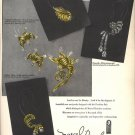 Vintage 1950 Marcel Boucher Jewelry Print AD