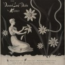 Vintage 1950 Diamond Look Daisies Kramer Jewelry Bobri Art AD