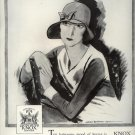 Vintage 1929 Knox Hats for Women Gladys Davis Art AD