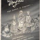 Vintage 1957 Evyan White Shoulders Most Precious Perfume AD