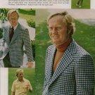 Vintage 1974 Golf Jack Nicklaus Hart Schaffner & Marx AD