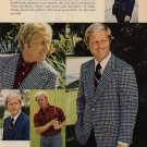 Vintage 1973 Golf Jack Nicklaus Hart Schaffner & Marx AD