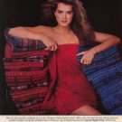 Vintage 1984 Brooke Shields Cannon Mills Towel AD