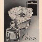 Vintage 1961 Caron Perfume Print AD