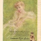 Vintage 1950 Yardley English Lavender Perfume AD