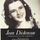 Vintage 1945 Jean Dickenson Opera Promo AD