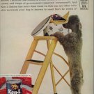 Vintage 1961 Standard Grey Poodle Ken L Ration Dog Food AD