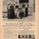 Vintage 1959 New Kodak Retina IIIS Camera Eastman Kodak AD