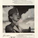 Vintage 1944 WAC The Women's Army Corp Recruitment  Military Dress AD