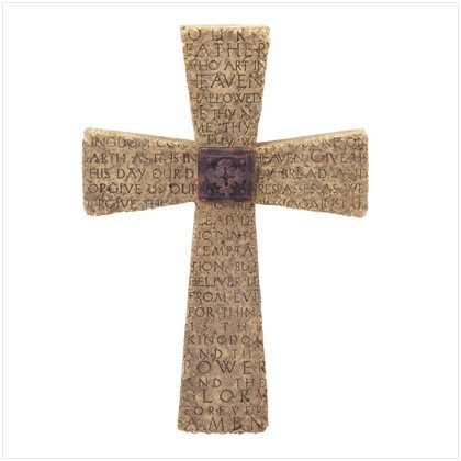 THE LORD`S PRAYER CROSS