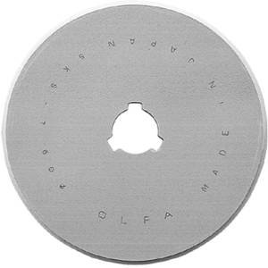 OLFA RB60-5, 60mm Replacement Blades for OLFA Rotary Cutters RTY-3/G, RTY-3/DX & RTY-3NS ~ 5 pack