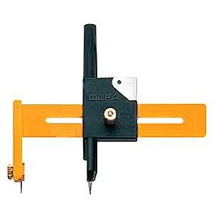 OLFA Compass Circle Cutter ~ CMP-1 ~ Perfect for Scrapbooking, Crafts and Photography Projects!