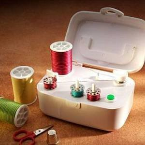 Wrights SideWinder ~ Portable Bobbin Winder ~End frustration of bobbins running out in mid-project!