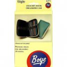 Boye Crochet Hook Organizer Case ~ Deluxe Accessories Case #6273 ~ Compact and ideal for travel.