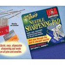 Sew 'n Sharp Needle Sharpening Pad by USA Sharpeners - Sharpen Machine and Hand Sewing Needles!