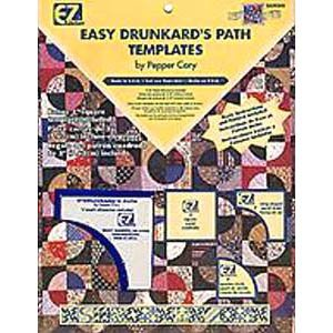 Easy Drunkard�s Path Templates By Pepper Cory ~ Wrights / EZ Quilting Acrylic Templates, 3 pieces