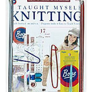 Boye ~ I Taught Myself Knitting ~ Beginner's Kit 6398 ~ Instructions, Patterns & Knitting Tools