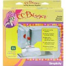 C.C. Bigger Sewing Machine Magnifier by Simplicity ~ 2x Magnification! Attach onto your machine!