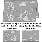"Dare to Dream A4 size (8.3"" x 11.7"") Embossing Folder by Craftwell ~ eBosser, Cut'n'Boss"