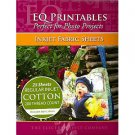 """Electric Quilt EQ Printables Inkjet Fabric Sheets,8 1/2""""x11""""~Great for Photo Projects~25 Sheets!"""