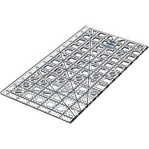 6.5� x 12.5� TrueCut Ruler w/Ruler Track & Cutter Guide - The Grace Company - 6 ½� x 12 ½�