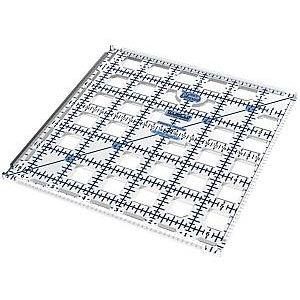 6.5� x 6.5� TrueCut Ruler w/ Ruler Track & Cutter Guide - The Grace Company - 6 ½� x 6 ½�