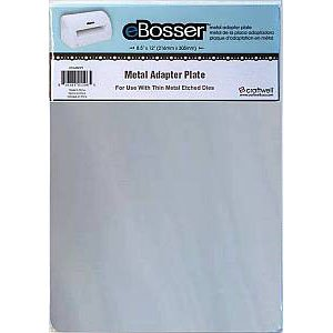 eBosser Metal Adapter Plate, use to Cut Fabrics with Thin Metal Cutting Dies ~ 8.5� x 12�
