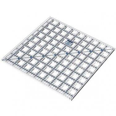 9.5� x 9.5� TrueCut Ruler w/ Ruler Track & Cutter Guide - The Grace Company - 9 ½� x 9 ½�