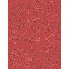 About Time, Teresa Collins, Embossing Folder, Universal size for Letter + A4, eBosser, Cut'N'Boss