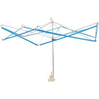 "Lacis Umbrella Yarn Swift / Skein Winder, Wind skeins up to 60"" w/ handle, adjustable angle clamp"