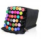 Black Spectrum Noir Marker/Pen Zipper Storage Case/Bag. Holds 36 Spectrum Noir Markers.